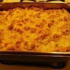 Rezeptbild: Makkaroni-Käseauflauf (Mac and Cheese)