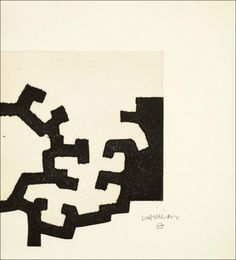 """Eduardo Chillida - José Miguell Ullán, """"Adoración"""", 1977."""