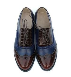 4c63cb9c1234 Vintage Genuine Leather Oxford Brogues - 9 Styles. Oxford Shoes OutfitWomen Oxford  ShoesDress ...
