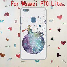 Lavaza Little Prince Watercolor Art Hard Transparent Case for Huawei P10 Lite