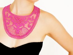 Lace Necklaces by EPUU on ETSY     #gift #lace #collar #necklace