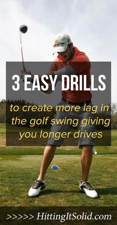 Learn 3 easy drills to create more lag and power in the golf swing and generate longer golf drives off the tee. Learn How to Train Your Mind for Maximum Performance on the Course Golf is Mental Tips And Tricks, Golf Chipping Tips, Golf 7, Play Golf, Sport Golf, Disc Golf, Used Golf Clubs, Golf Club Grips, Golf Putting Tips