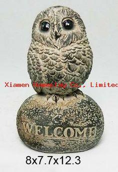 http://www.xmhomeplay.com/products_info/Resin-Owl-Figurine-227712.html Resin Owl Figurine
