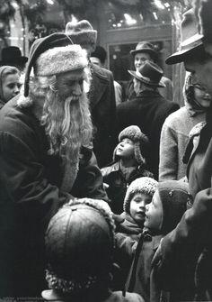 Santa Claus 1954 Sabine Weiss