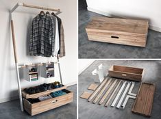Arara nomade - guarda roupa portatil