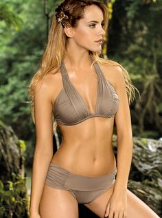 Passionate Secret Bathing Suit  SALE $58 TOP Does not have padding   BOTTOM  Available in moderate back coverage  COLOR Grey stone, Blue navy and White