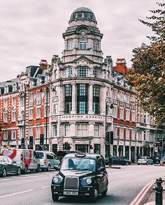 South Kensington London,London photo,London street,london cab