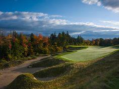 A wooded beauty, I can smell the fresh air -- Sunday River Golf Club, Newry, Maine Sunday River Maine, Cheap Golf Clubs, Golf Gps Watch, Golf Apps, Mountainous Terrain, Public Golf Courses, European Tour, The Fresh, New England