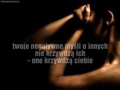 Negatywne myśli… | www.MotywujSie.pl
