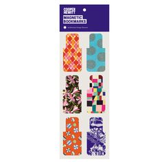 Design Patterns Magnetic Bookmarks   SHOP Cooper Hewitt