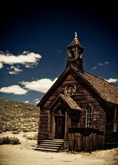 Some fantastic snaphots from Bodie Historic State Park, an old gold mining town that's essentially frozen in time.