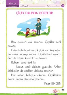 1. Sınıf Konu Anlatım EV ÇALIŞMALARI Turkish Language, Arabic Language, Learn Turkish, Learning Arabic, Crafts For Kids, Classroom, Activities, Education, Books