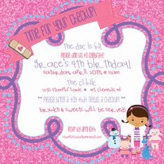 """Photo 3 of 61: Doc McStuffins / Birthday """"The Doc is IN! A Doc McStuffins Birthday Party"""" 