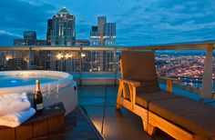 Condo Balcony — Seattle, Washington