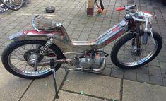 Puch Moped, Mopeds, Kustom, Motorcycles, Garage, Beauty, Bike, Carport Garage, Biking