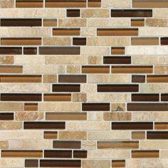Check out this Daltile product: Stone Radiance Caramel Travertino Random Mosaic Blend SA58