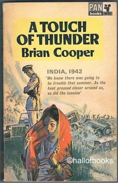 A Touch of Thunder by Brian Cooper, Vintage Pan paperback book.
