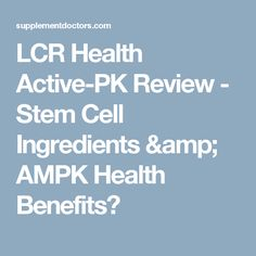 Active Stem From Lcr Health Active Stem From Lcr Health