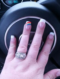 Gay Pride Nails