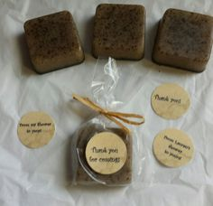 Super smelling Coffee Lover Soap favors