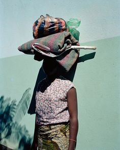 wardrobedept:  Traveler from the Flamboya series by Viviane Sassen - she has one of the most unique artistic perspectives out there!