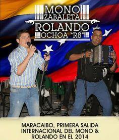 Maracaibo Primera salida internacional de @MonoZabaleta y @Rolando_8A - http://wp.me/p2sUeV-484  - #Noticias #Vallenato !