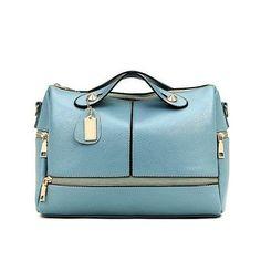 d1aca0a5cd6d Coowa New 2016 Leather Boston Women Handbag Fashion Casual Women Bag Ladies  Bag Simple Shoulder Pillow Bag bolsos sac a main
