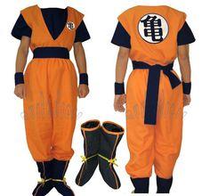 dragonball z costumes images | Dragon Ball Z Goku Costume