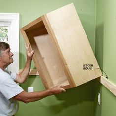Tips for installing box cabinets successfully. Learn how to hang kitchen wall cabinets and install island cabinets with these pro tips.