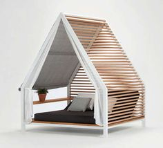 Kettal Cottage Provides Privacy and Shelter for Relaxing Outdoors #uniquefurniture