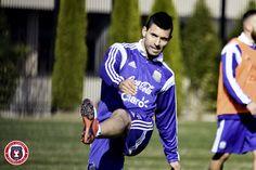"Sergio ""Kun"" Aguero   @Argentina training session at @georgetownhoyas #TOCA #PLAYsimple #GiraPorEEUU @aguerosergiokun"