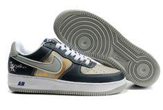537 a buon mercato nero nike air force 1 25 basso scarpe mens 50114 uomini air