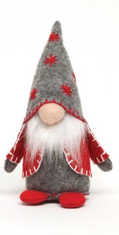 Gnome with Stitched Vest (Boy or Girl)