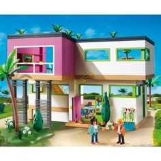 Moderne Luxusvilla von Playmobil