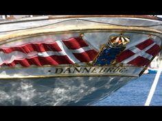 Dronning Margrethe og Kongeskibet Dannebrog