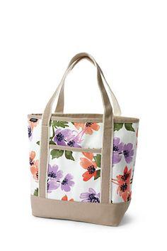 Print Medium Open Top Canvas Tote Bag