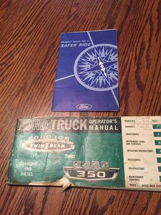 Ford 1966 Truck Operators Manual Ford 100 Twin I Beam thru Ford 350 As is.