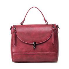 $24.31 PU Leather Double Zips Handbag