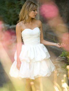 Mamie-Vestido de Noiva em cetim - dresseshop.pt