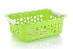 Buy #7: Nayasa Spotty No. 2 2 Piece Plastic Fruit Basket Set Large Green