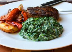 Food Wishes Video Recipes: Creamed Spinach – King of the Steakhouse Side Dishes