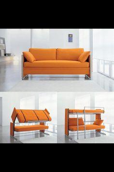 transforming  furniture... Io quiero uno asi p mi  one step closer to my magical home