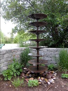 Farm implement fountain