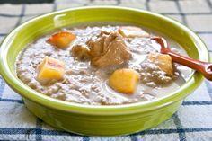 peaches n' cream oatmeal
