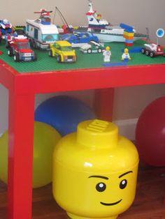 Homemade Serenity: Ikea Hack - Lack Lego Table