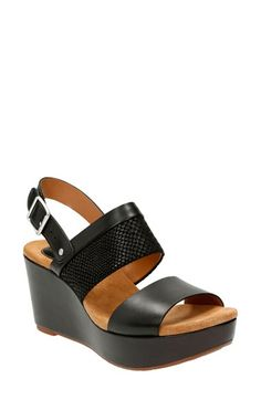 d36bb76df14e Clarks®  Caslynn Kat  Wedge Sandal (Women) available at  Nordstrom Clarks
