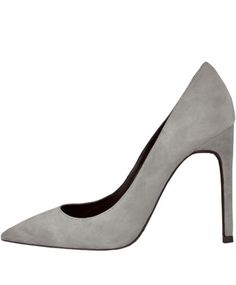 Jeffrey Campbell Grey Suede Dulce Heel ($148.00) - Svpply