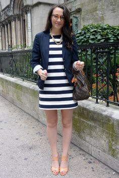 Rugby Stripe Dress http://www.thecollegeprepster.com/2013/09/rugby-stripes.html