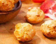 Petits choux salés fourrés au jambon et fromage ail et fines herbes : Savoureuse et équilibrée | Fourchette & Bikini