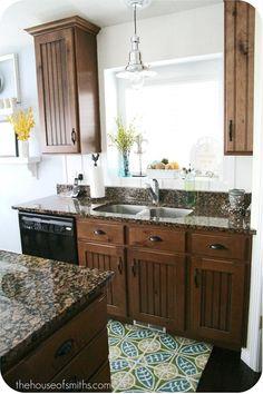 Cabinet+countertop colors